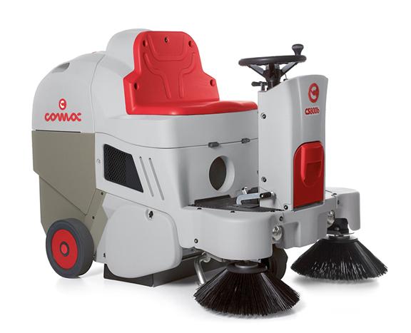 小型驾驶式电动扫地车CS700B