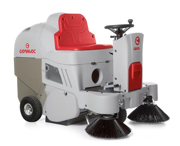 小型驾驶式燃油型扫地车CS700H