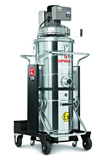 CA 40  on.100 ATEX 22   防爆型三相电源驱动工业吸尘器