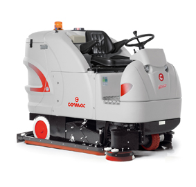 ULTRA C100BS电动驾驶式洗扫一体车