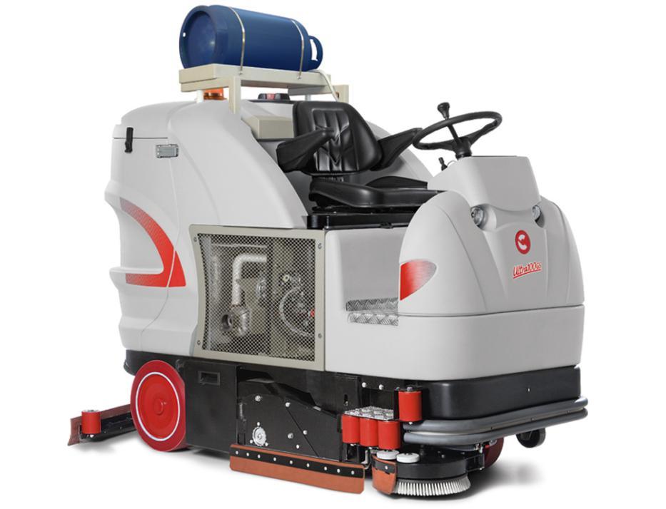 ULTRA C100GS电动驾驶式洗扫一体车