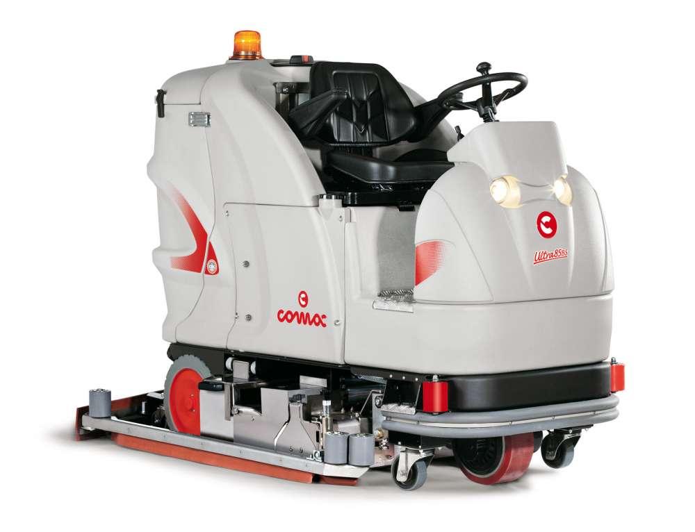 ULTRA C85B/ULTRA C100B电动驾驶式洗地车
