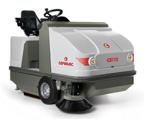 CS 120 B  电瓶驱动驾驶式无尘清扫车